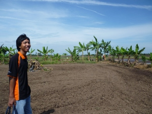 Tanah Sg Leman Telah Dibajak Sekali
