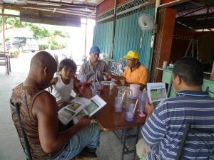PADI SRI : Perbincangan Tanaman Padi SRI & Penyediaan MOL di Selangor