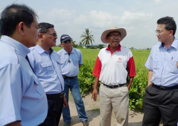 Padi SRI Selangor : Memohon Sokongan Kepada Persidangan SRI