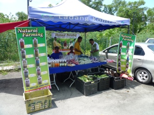 Padi SRI Selangor : Gerai PPL Parit 9, Sg Leman Timur