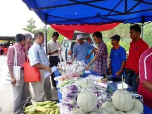 Padi SRI Selangor : Penerangan oleh PPL Parit 9, Sg Leman Timur