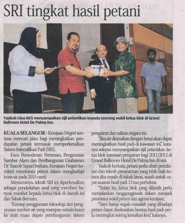 SRI-IN-NEWS-26-5-2011-Sinar edisi Selangor