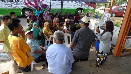 Padi SRI Selangor: PPL SRI Menerima Lawatan