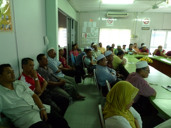 Padi SRI Selangor : Para Hadirin