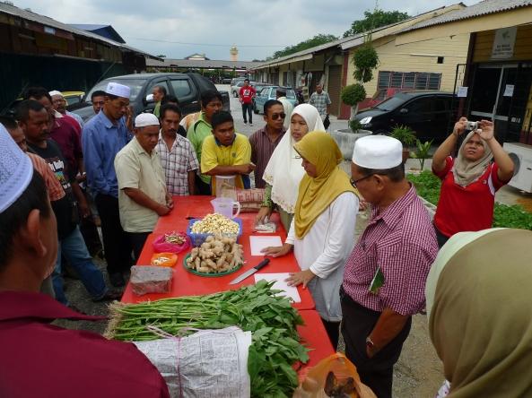 Padi SRI Selangor : Sesi Demo Membuat Produk SRI