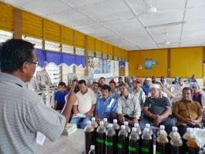 Padi SRI Selangor : Taklimat SRI di Taliair 8, Sg Leman