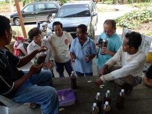 Padi SRI Selangor : Penerangan Oleh En Razak dan Man