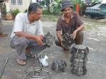 Padi SRI Selangor : Tanggal 17 Okt, 2011 Roda Landak Dihadapan Othman