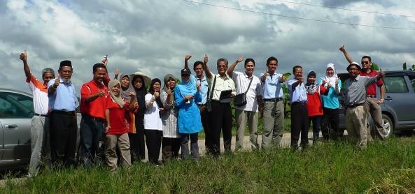 Pegawai Jabatan Pertanian Negeri Selangor