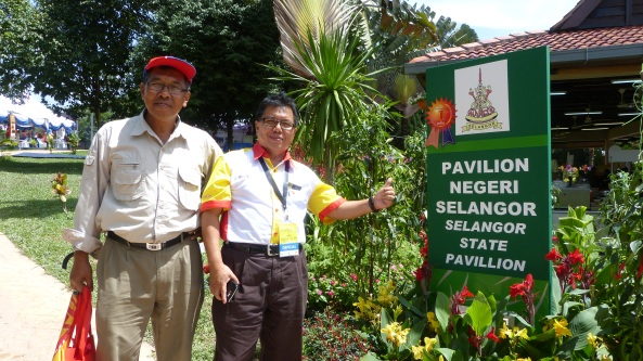 Pavilion Selangor Juara Pertandingan Landskap