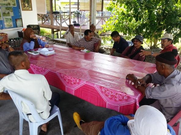 Perbincangan Petani Sayur Kawasan Sg Leman, Sabak Bernam